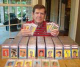 Jim and his cards