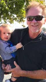 Jim and Grandson