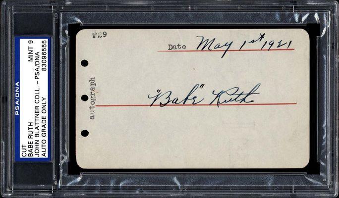 Desktop Frame Babe Ruth Connects Autograph Replica Print Signed Landscape
