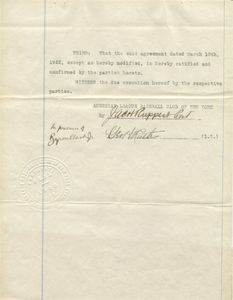 1922 Babe Ruth Signed Contract