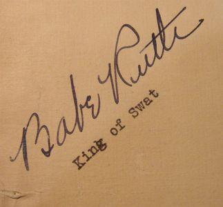 1935 Babe Ruth Signature