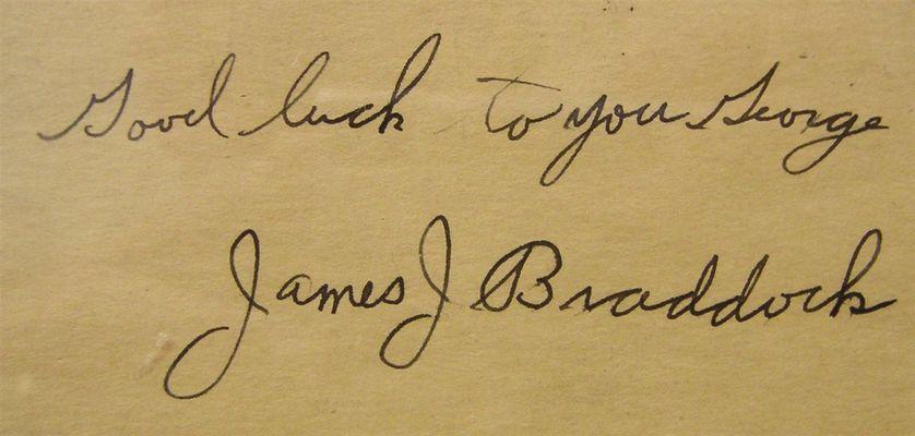 James Broddock Ring Name