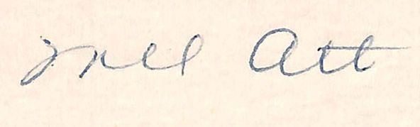 1947 Mel Ott Signed Letter