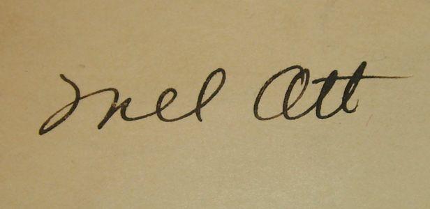 1948 Mel Ott Signature