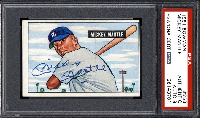 367f7559b91 Mickey Mantle. View Gallery. AUTOGRAPH ...