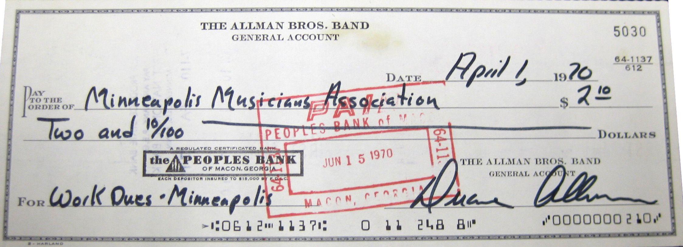 Duane Allman Psa Autographfacts