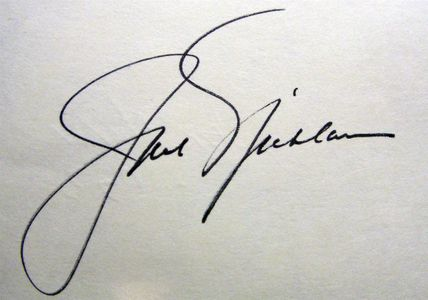 1973 Jack Nicklaus Signature