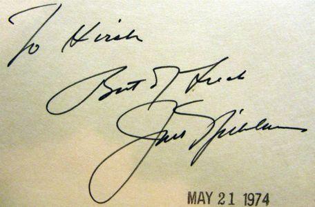 1974 Jack Nicklaus Signature