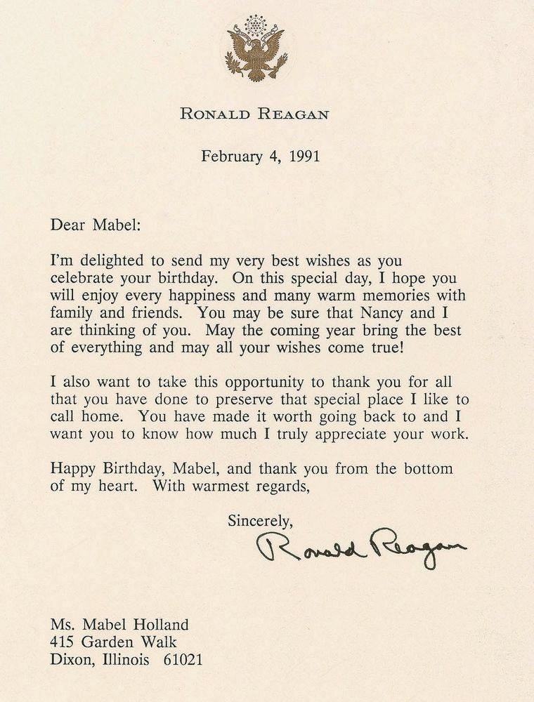 U S Presidents Ronald Reagan Images Psa Autographfacts