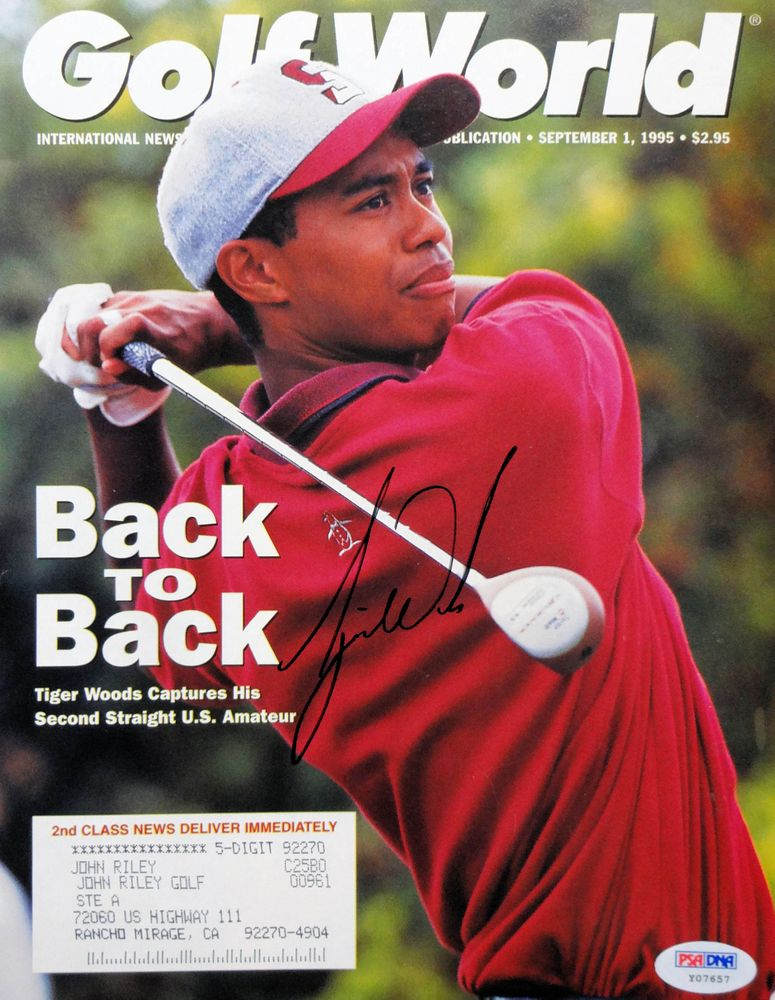 Tiger Woods Psa Autographfacts
