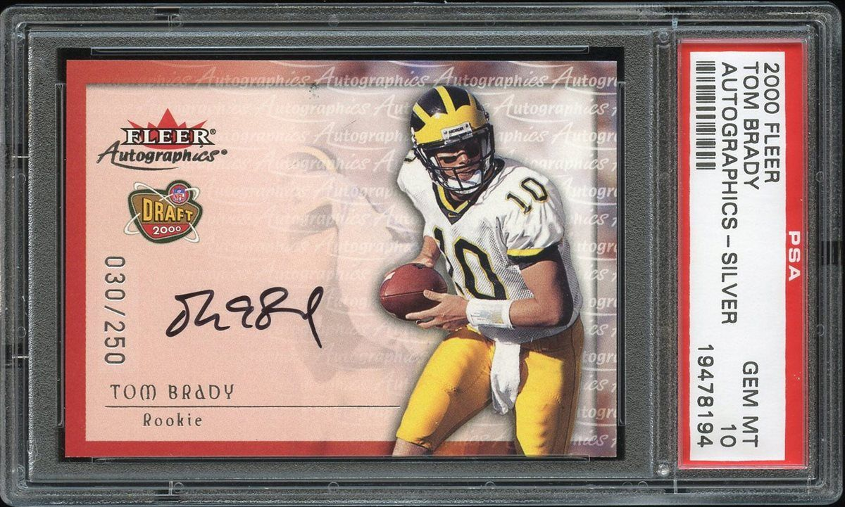 low priced 1c9ce 47414 Football - Tom Brady - Images | PSA AutographFacts™