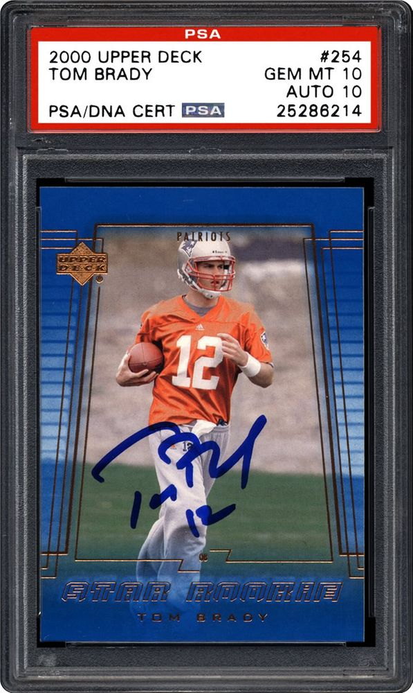 Football Tom Brady Images Psa Autographfacts