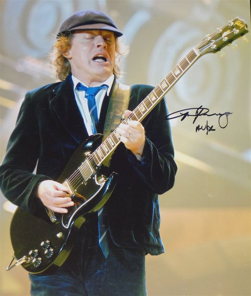 Angus Young Psa Autographfacts