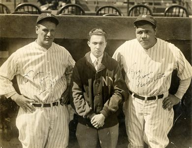 Babe Ruth and Lou Gehrig Personalized Photograph