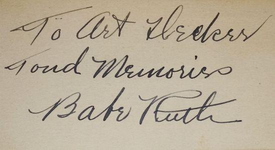 Babe Ruth Signature