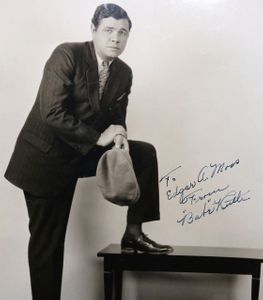 Babe Ruth Signed and Inscribed Photograph