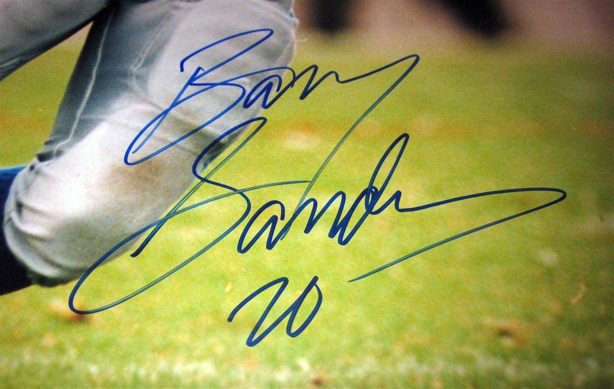 premium selection 98878 e6d94 Barry Sanders | PSA AutographFacts™