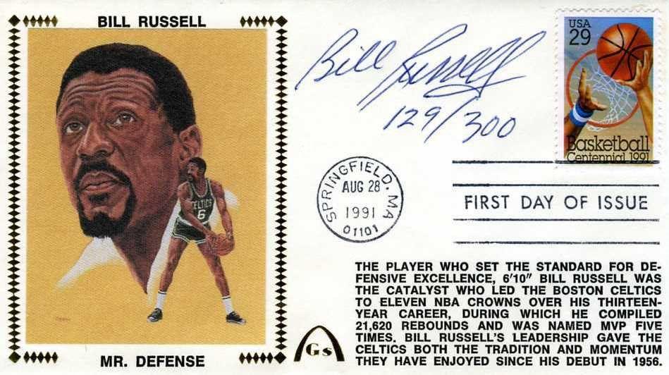 Bill Russell Psa Autographfacts
