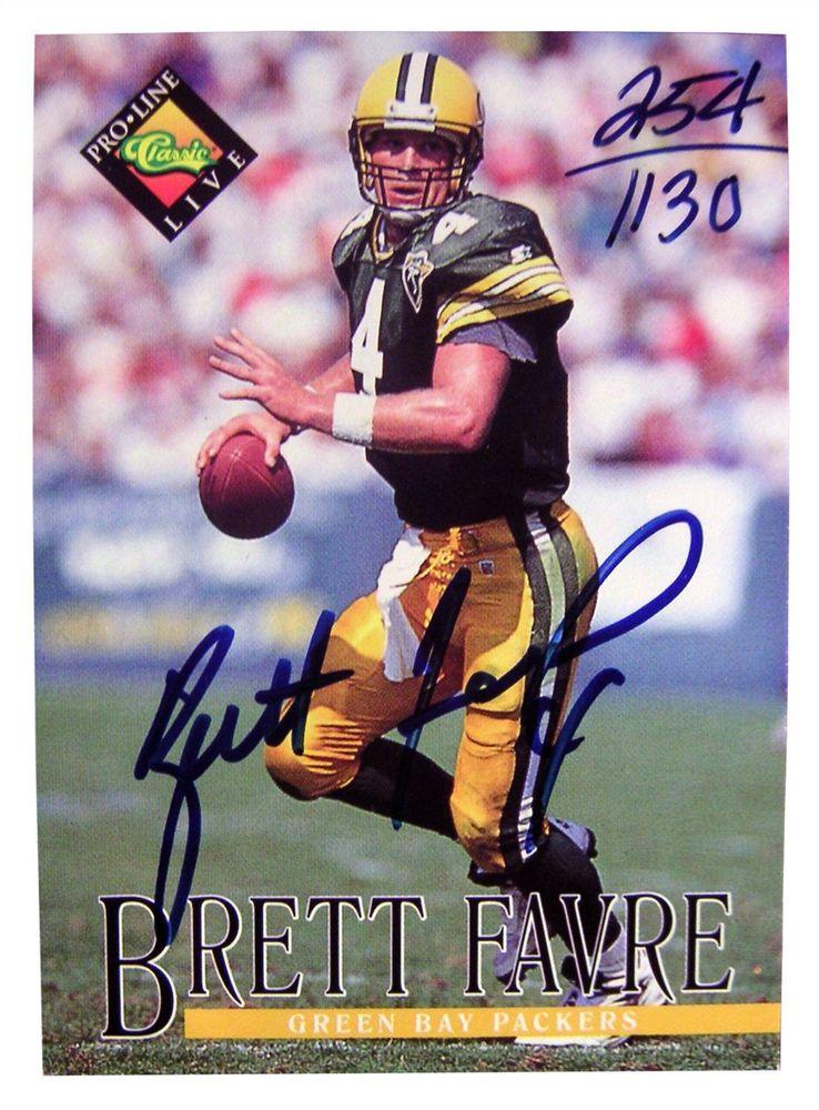 online retailer e1fd9 7b823 Football - Brett Favre - Images   PSA AutographFacts™