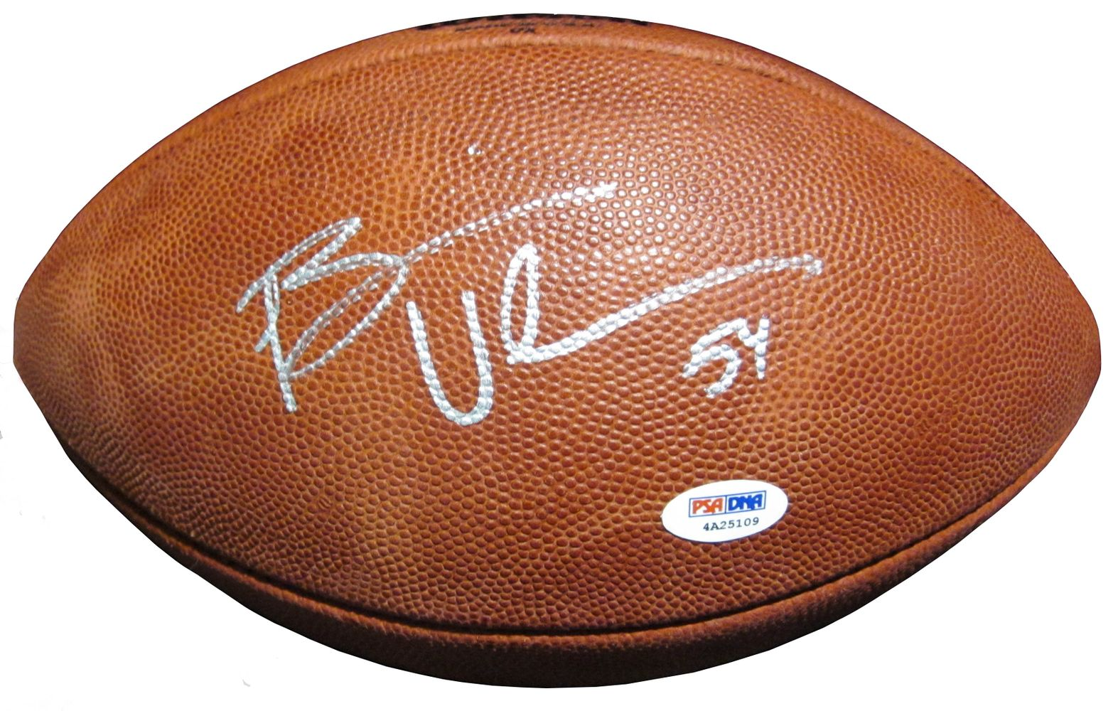 best loved b6d0e 8cde7 Brian Urlacher | PSA AutographFacts™