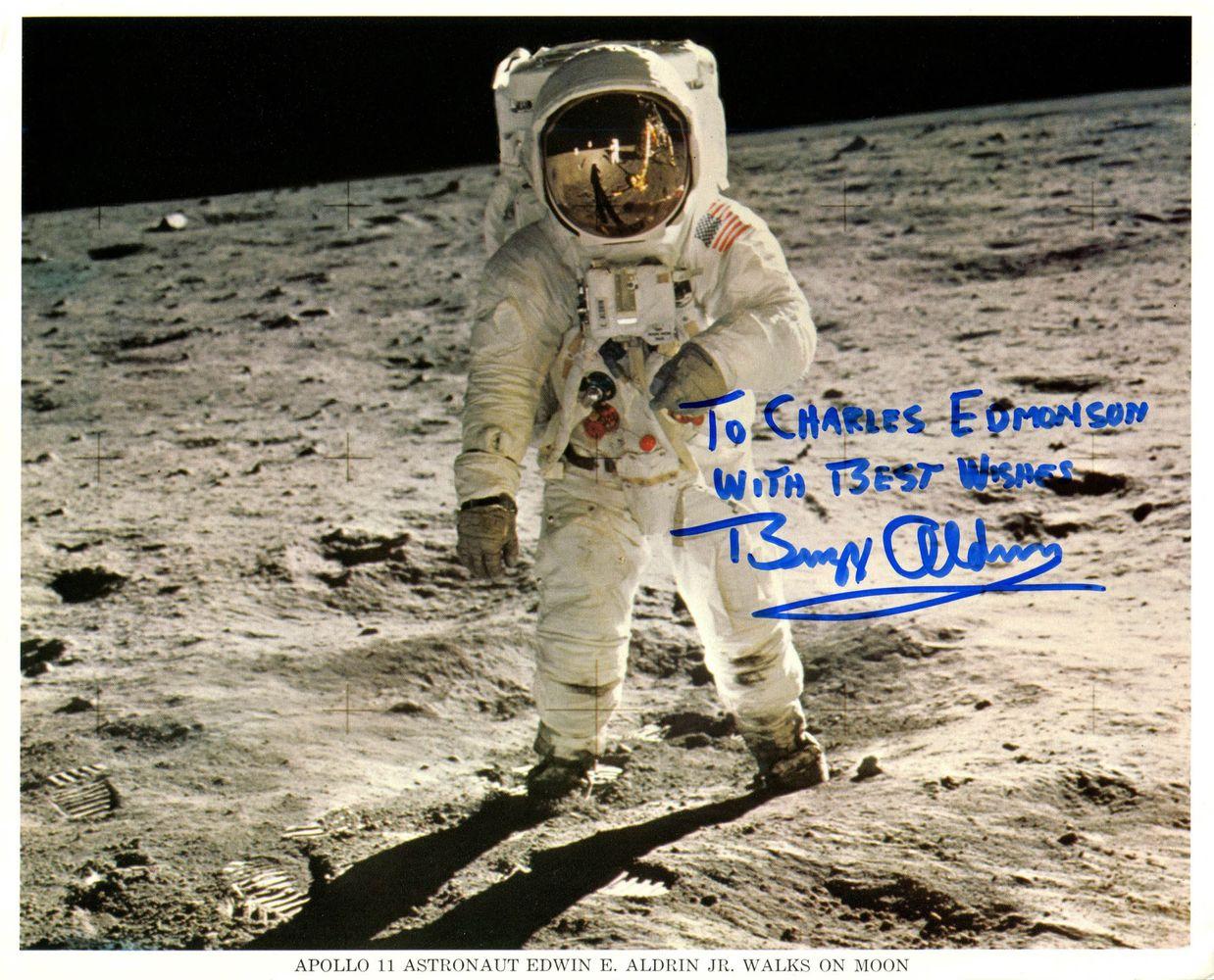 Space Exploration - Buzz Aldrin - Images   PSA AutographFacts™