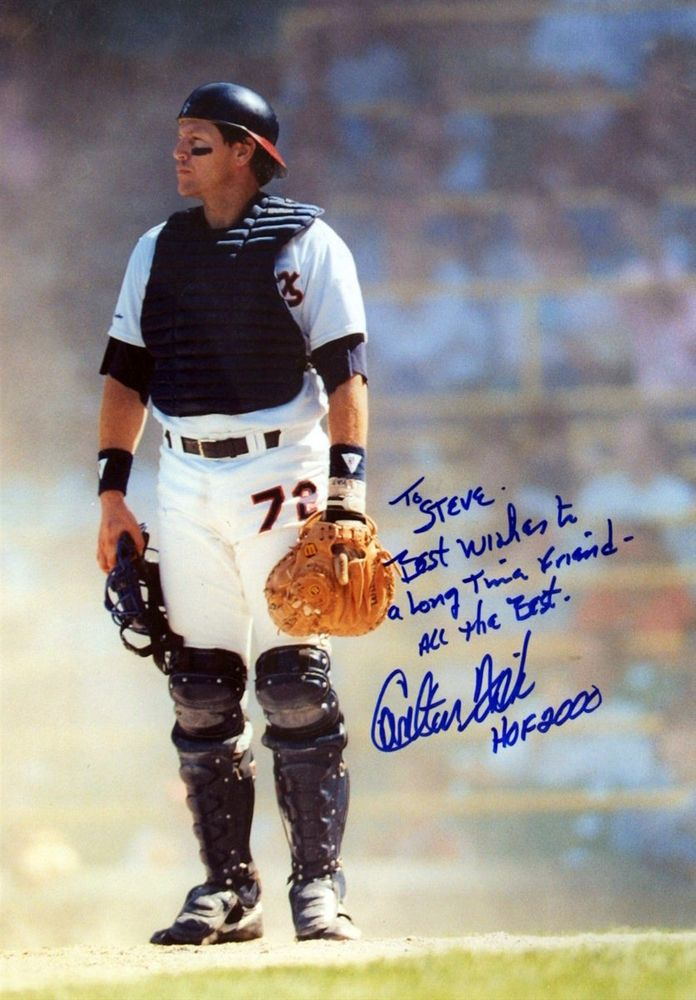 Baseball Carlton Fisk Images Psa Autographfacts
