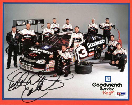 Dale Earnhardt   PSA AutographFacts™Dale Earnhardt Bloody Car