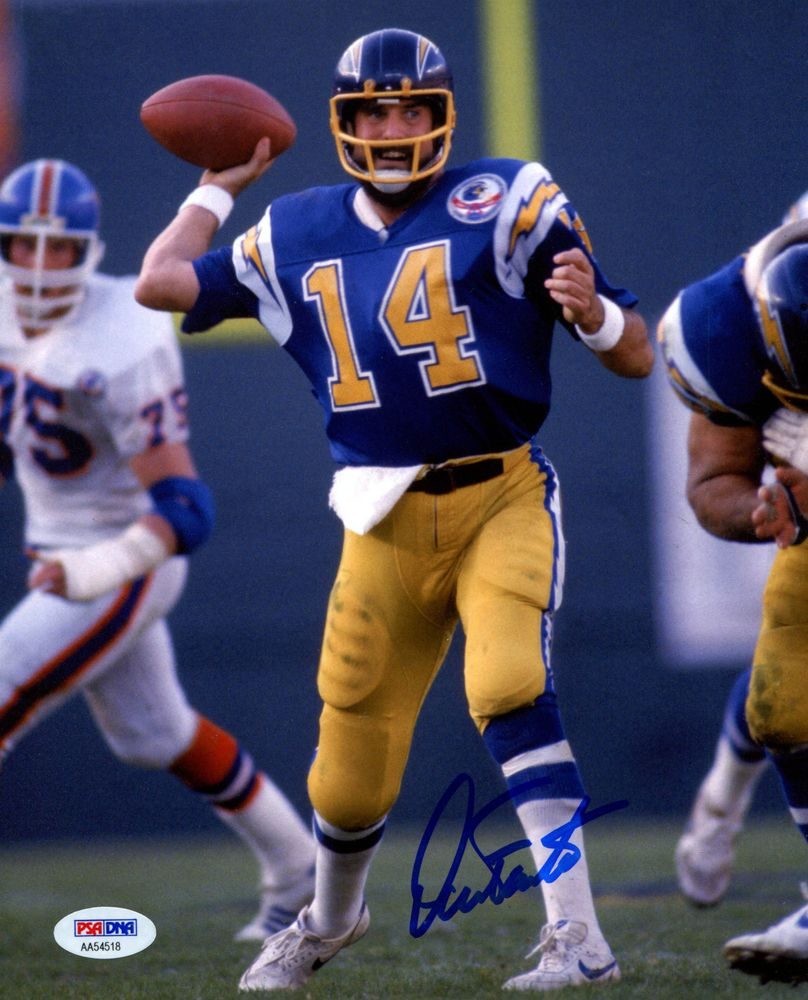 San Diego Chargers Dan Fouts: PSA AutographFacts™