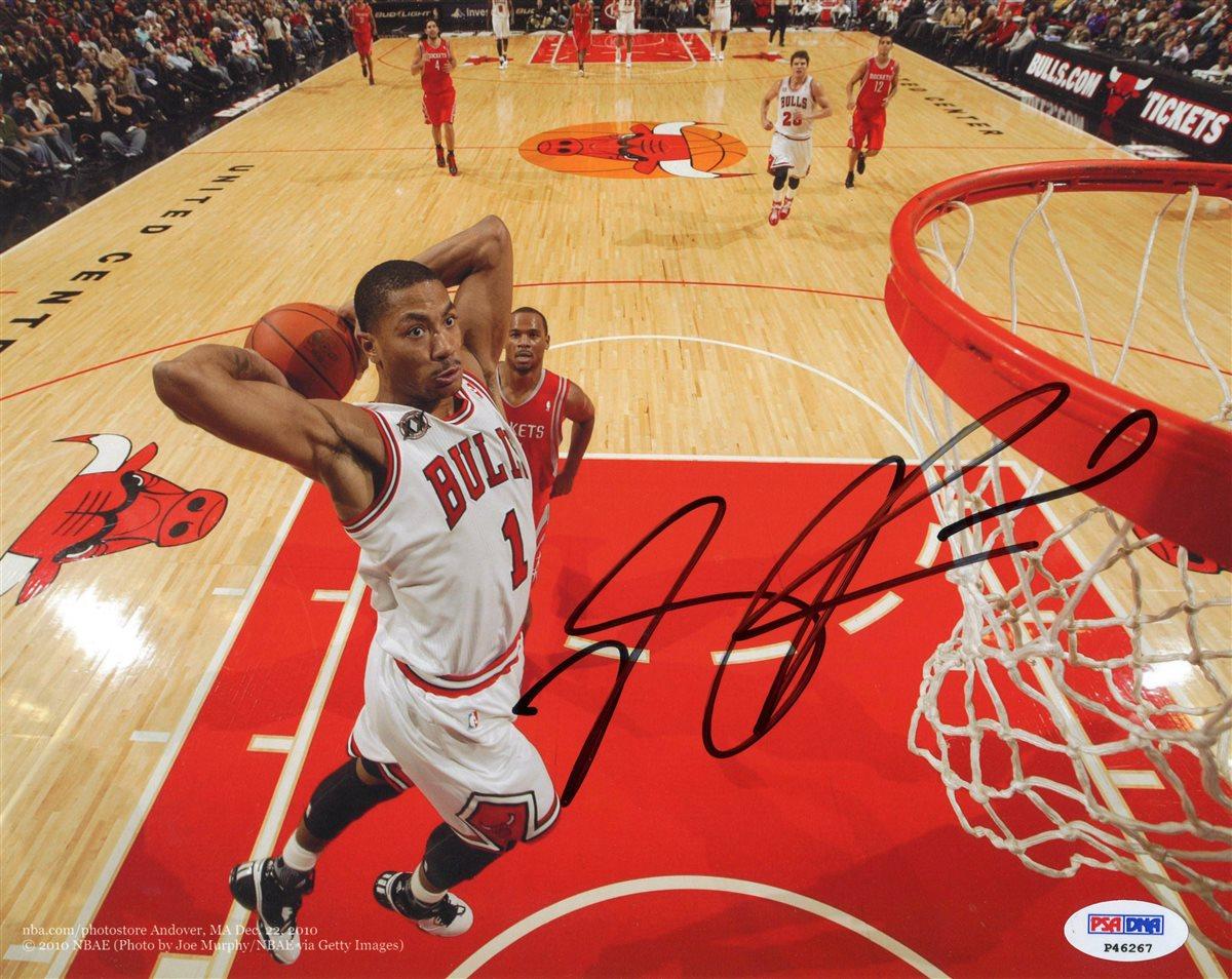 Derrick Rose | PSA AutographFacts™
