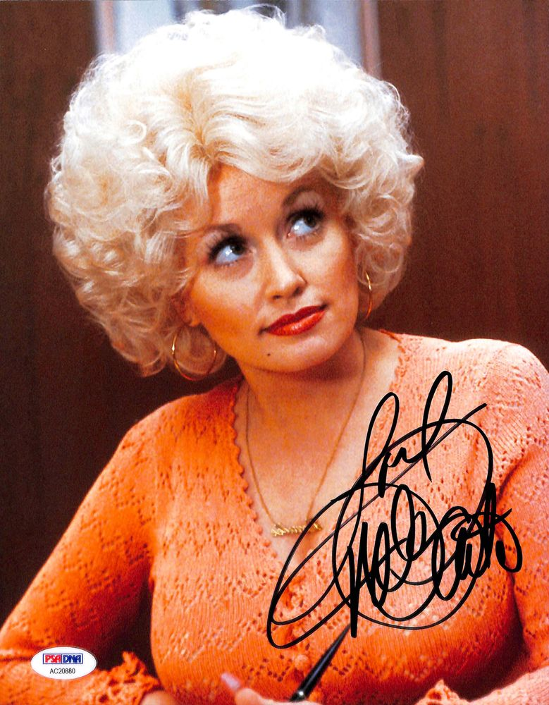 dolly parton psa autographfacts. Black Bedroom Furniture Sets. Home Design Ideas