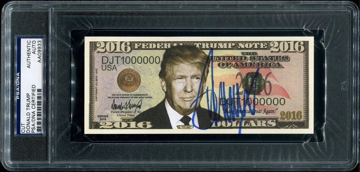 Donald Trump - Signature by unitedinthreads