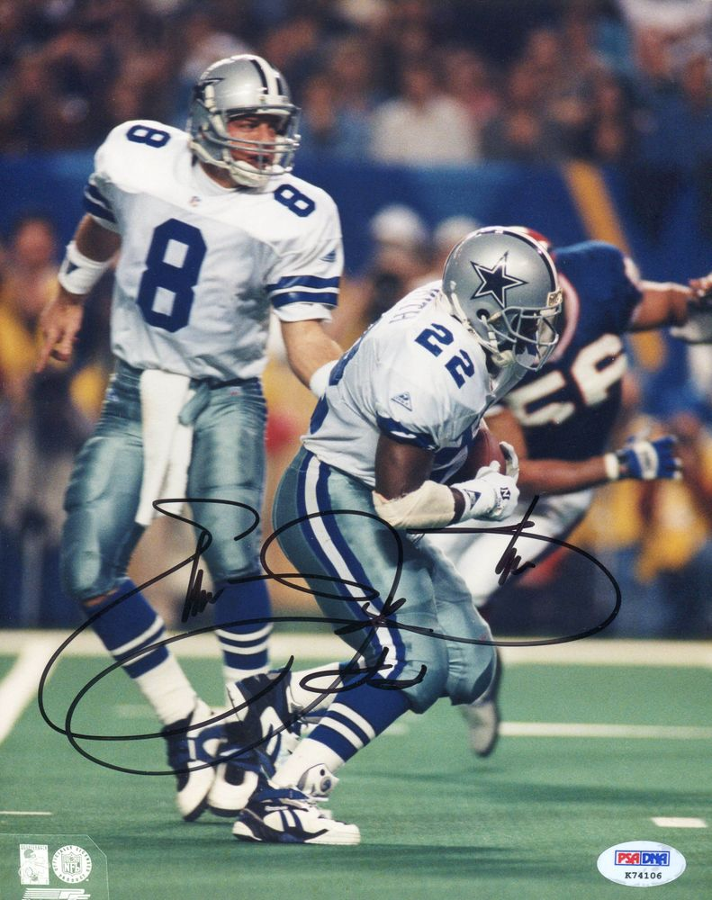Emmitt Smith Psa Autographfacts
