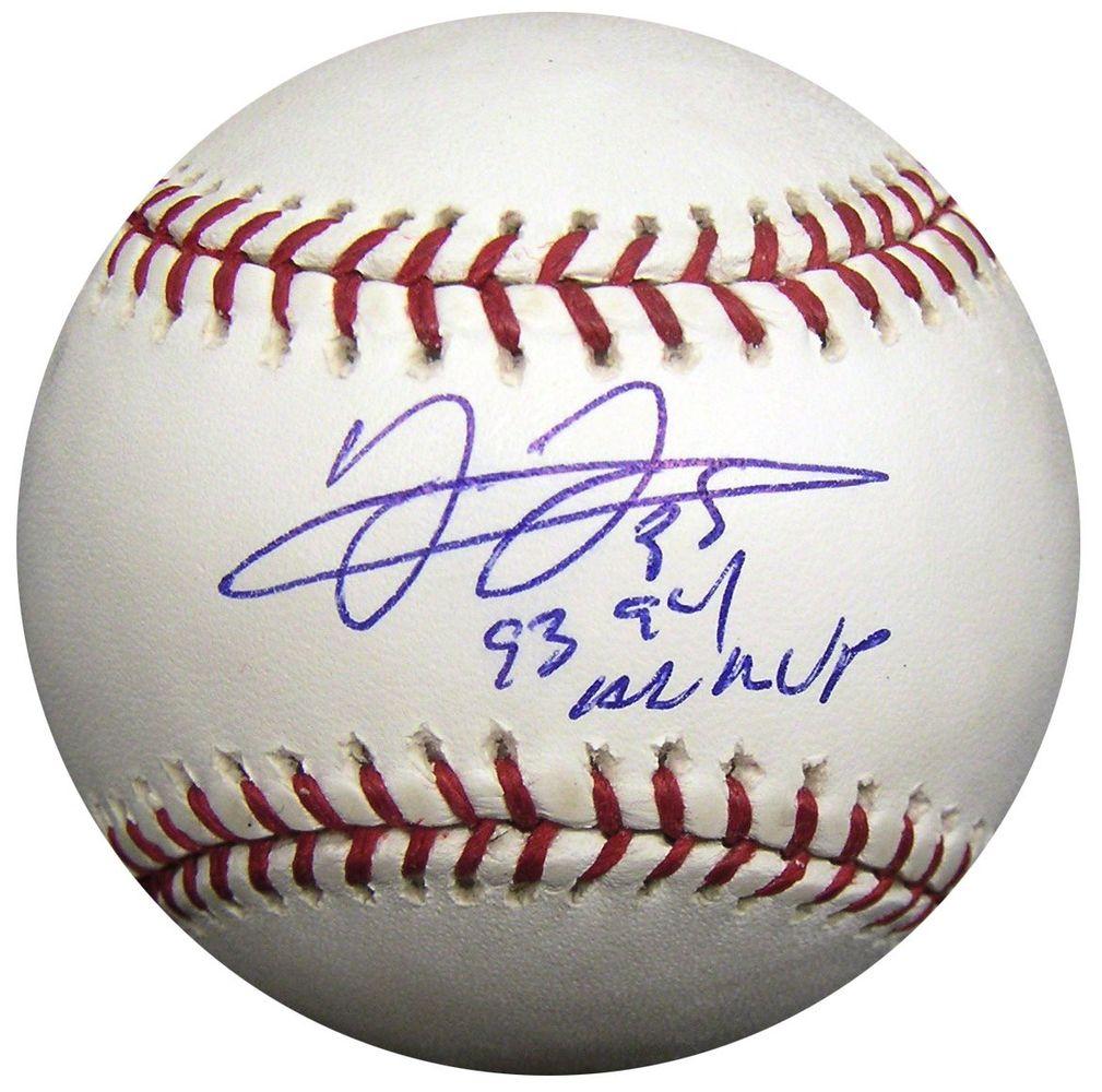 sports shoes 1b6e7 e606b Baseball - Frank Thomas - Images | PSA AutographFacts™