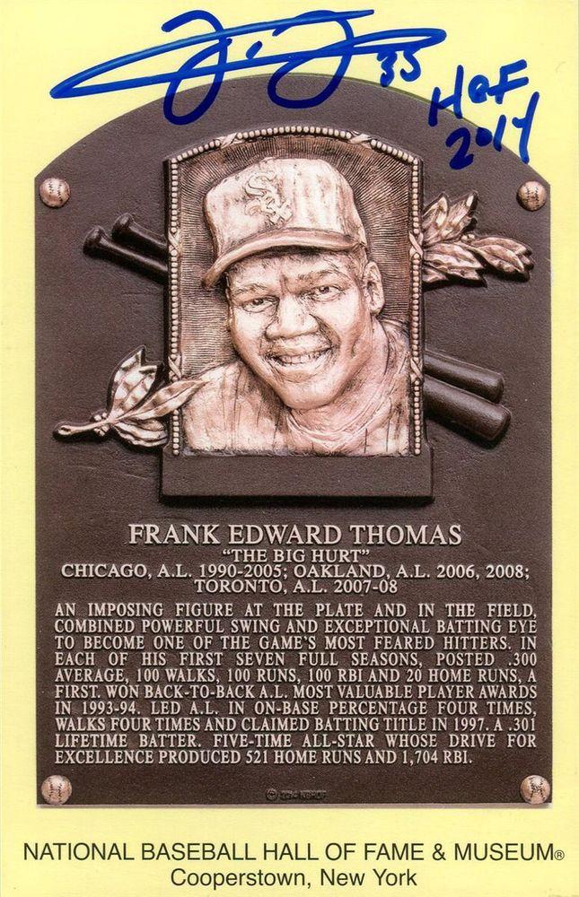 Frank Thomas Psa Autographfacts