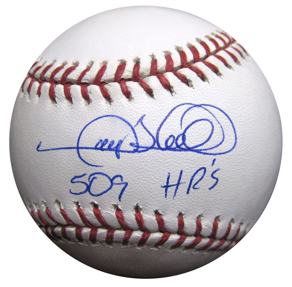 255914f1069 Gary Sheffield Later Career Inscribed Baseball · Gary Sheffield Signed  Baseball