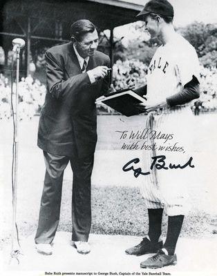 George H W Bush Psa Autographfacts