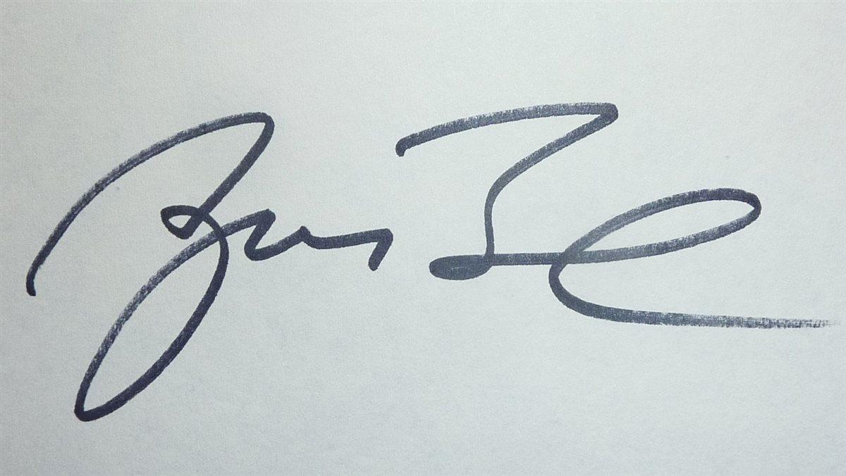 George Bush Signature Www Sham Store