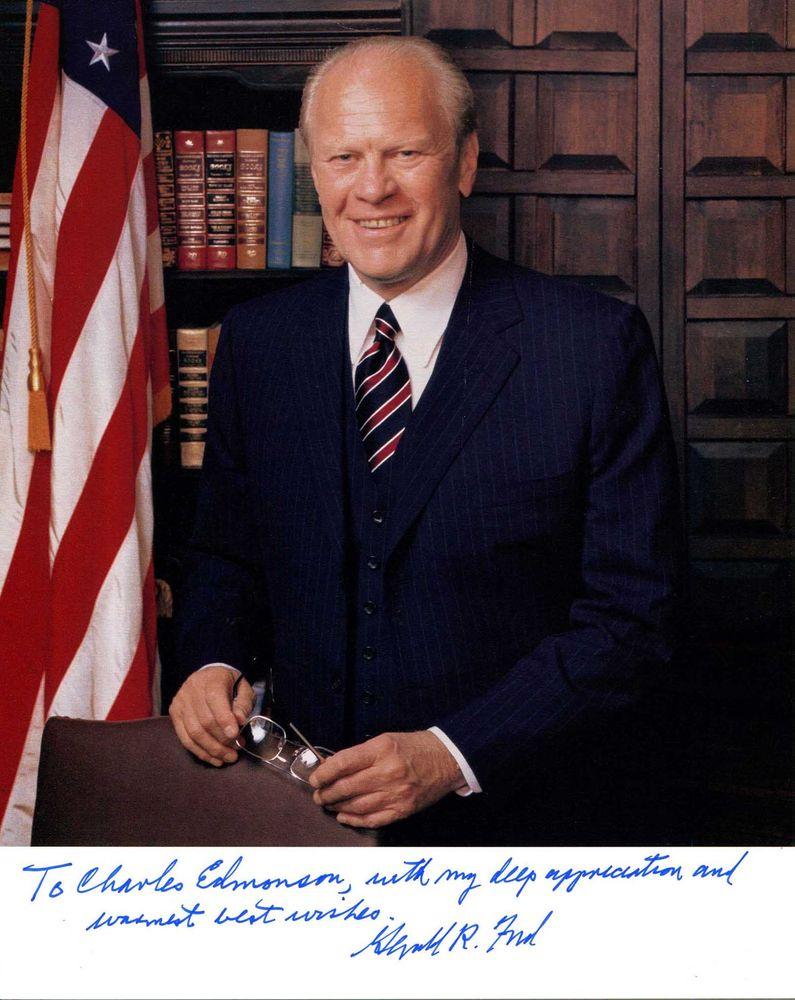 Gerald R Ford Psa Autographfacts