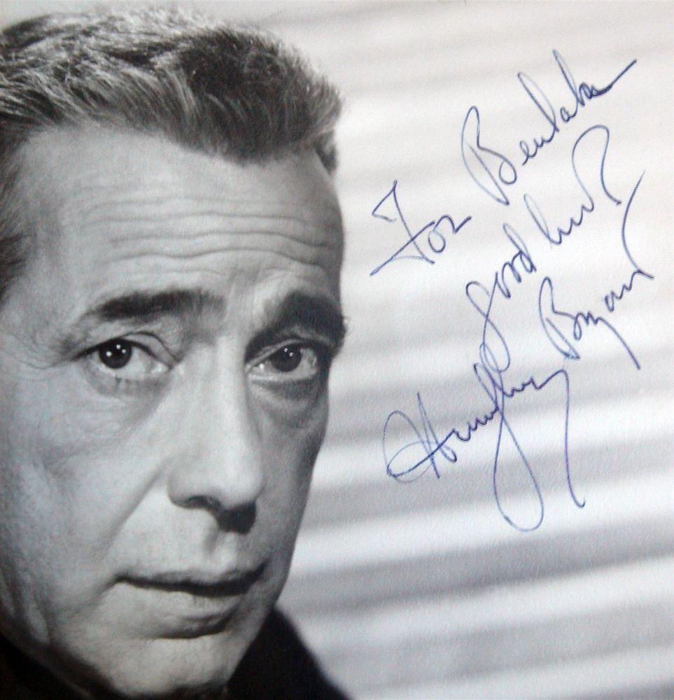 Humphrey Bogart Psa Autographfacts