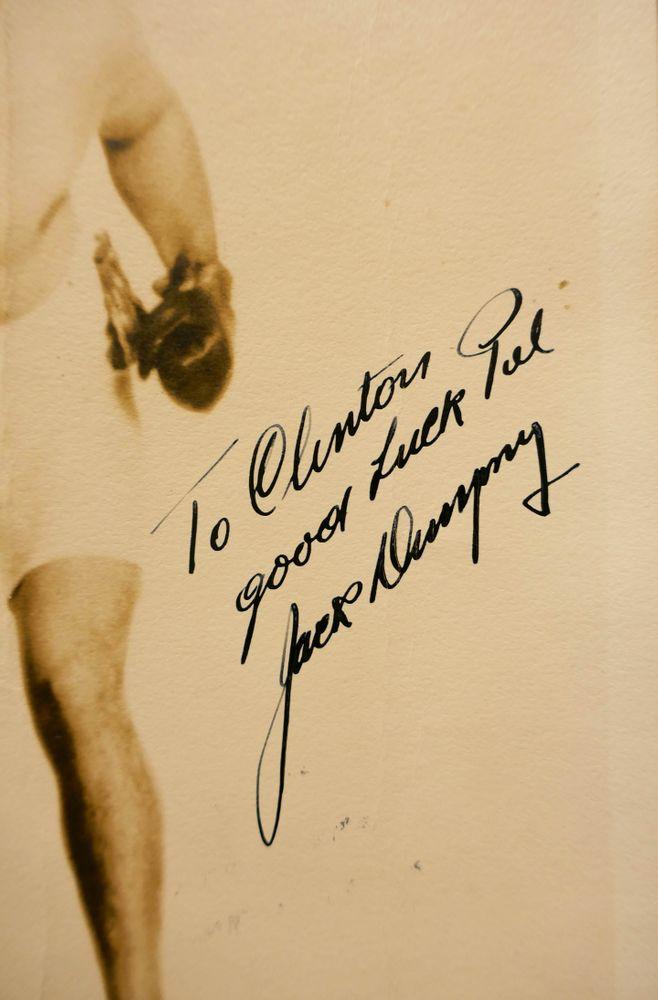 Jack Dempsey | PSA AutographFacts™