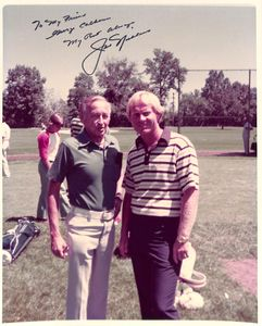 Jack Nicklaus Personalized Photo