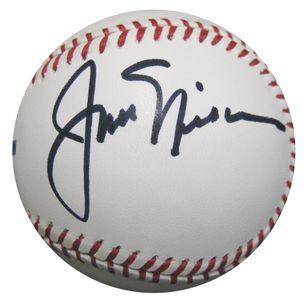 Jack Nicklaus Signed Baseball