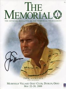 Jack Nicklaus Signed Cover