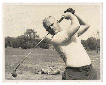 Jack Nicklaus Signed Original Photograph