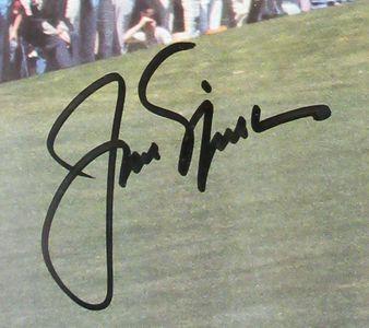Jack Nicklaus Signed Photograph Close-Up