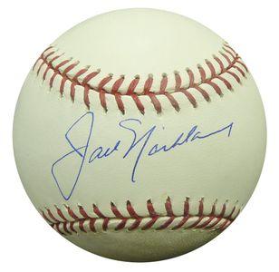 Jack Nicklaus Single Signed Baseball