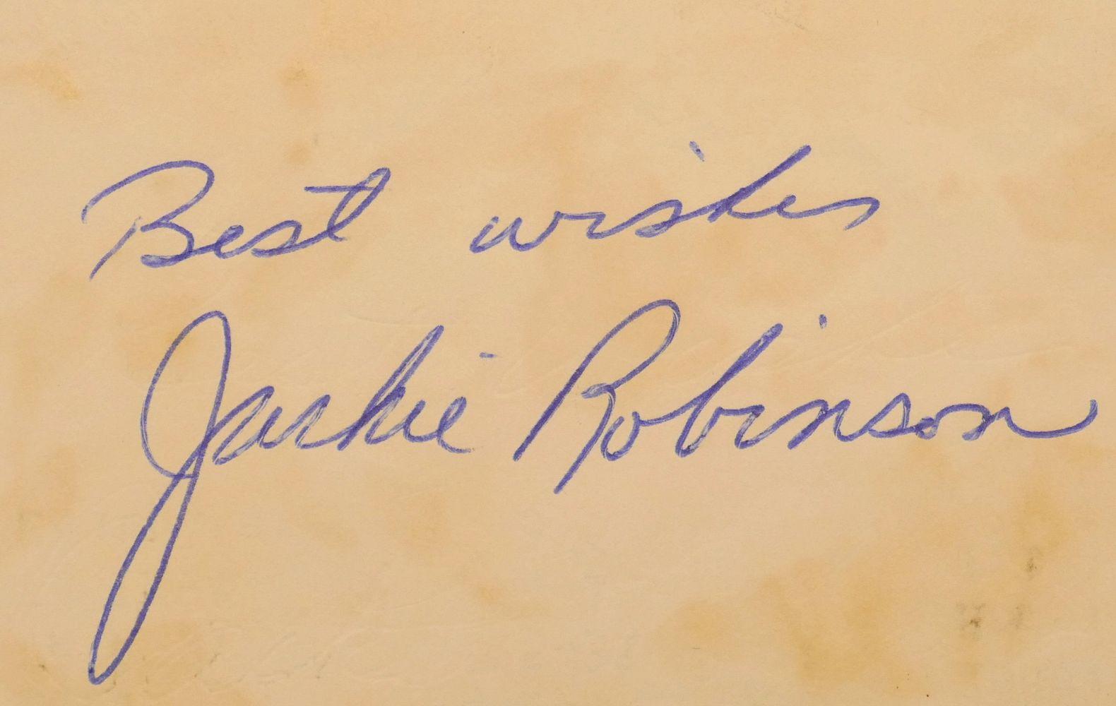 jackie robinson paper