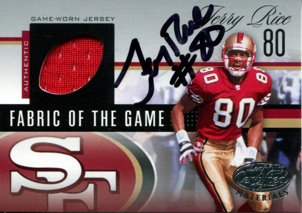 pretty nice 2a06b 61bc4 Jerry Rice | PSA AutographFacts™