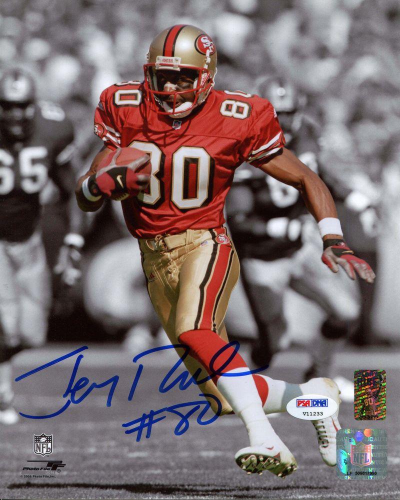 pretty nice fa235 06d5a Jerry Rice   PSA AutographFacts™