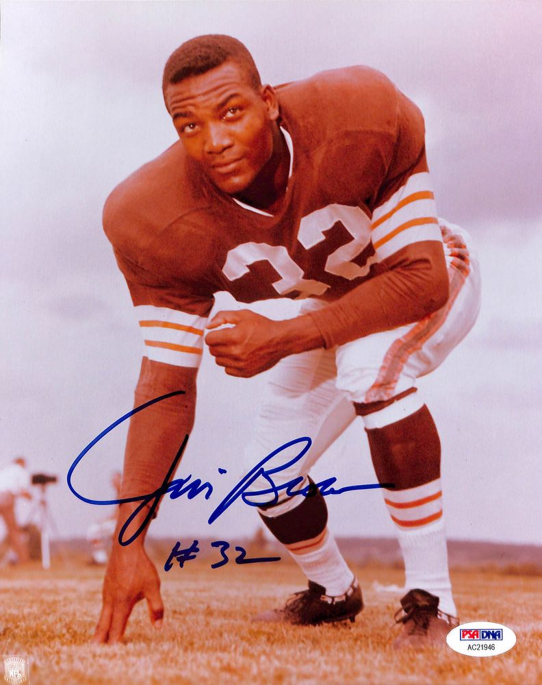Jim Brown Psa Autographfacts